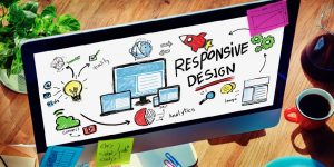 Responsive Web Design Concept Drawing