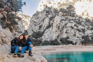 Travel Photo of Couple at Parc National des Calanques
